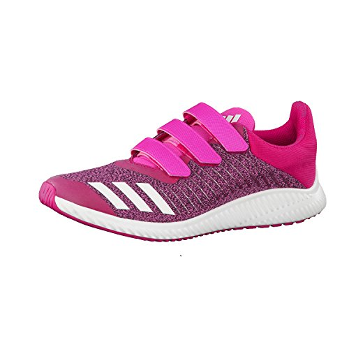 adidas  Fortarun Cf K, chaussure de sport Unisexe - enfant shock pink s16/ftwr white/bold pink