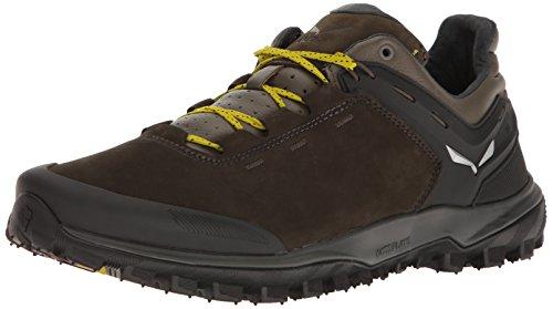 SALEWA Wander Hiker L, Scarpe da Arrampicata Basse Uomo, Multicolore (Black Olive/bergot 0948), 41 EU