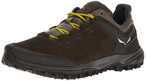 Salewa Herren MS Wander Hiker L Trekking-& Wanderhalbschuhe, Schwarz (Black Olive/Bergot 0948), 44 EU (Low Hiker Schuhe)