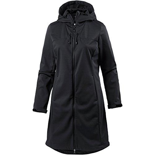 OCK Damen Softshellmantel schwarz 34