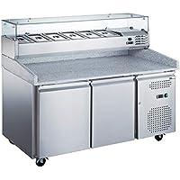 AFI Collin Lucy - Mesa de pizza frigorífica, 390 o 585 litros 6 x 1/3