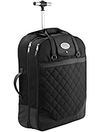 Cabin Max Monaco carrier robe bagage main valise 55x40x20cm. Parfait pour les vols Ryanair et easyJet