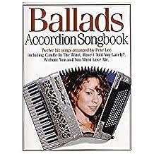Accordion Songbook Ballads. Für Akkordeon