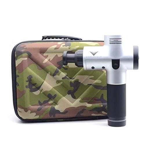Hypervolt Aufbewahrungsbox Tragbare Tragetasche für Hypervolt harten Schutz EAV Wasserdicht Kratzfest Stoßfest Zubehör für Hyperice Hypervolt Massagepistole Camouflage camouflage 30*21*8cm