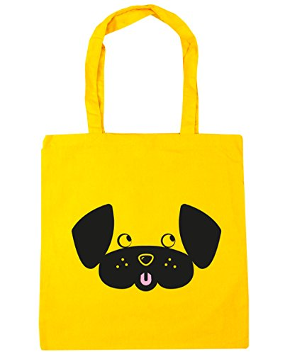 HippoWarehouse ,  Damen Strandtasche Gr. One Size, gelb (Spaniel Tote Bag Springer English)
