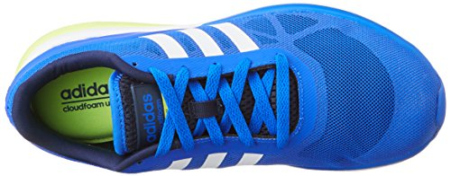 adidas - Cloudfoam Flow, Scarpe sportive Uomo Blue/Yellow/White