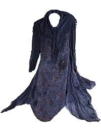 Damen Winter Mohair Twinset 3tlg Lagenlook Tunika Kleid Strickkleid  Unterkleid Schal Wolle 40 42 44 46 48 M L XL… fd2f7fba09