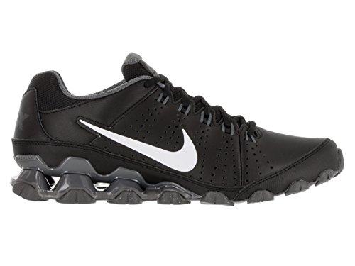 Nike Reax 9 Tr, Chaussures de Sport Homme, 9,5 UK / 44,5 EU / 10,5 US Noir / blanc / gris (noir / blanc - gris foncé)