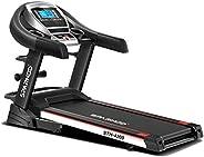 SPARNOD FITNESS STH-4200 (4.5HP Peak) Automatic Treadmill (Free Installation Service) - Foldable Treadmill for