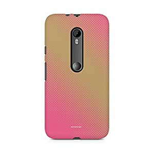 Printed back cover for Moto X Style by Motivatebox.Pink Abstract design, Polycarbonate Hard case with premium quality and matte finish