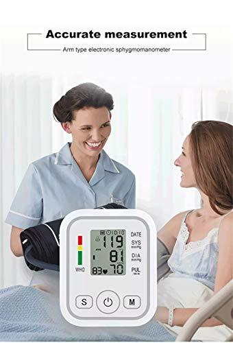 XKRSBS Esfigmomanómetro Digital inalámbrico Brazo