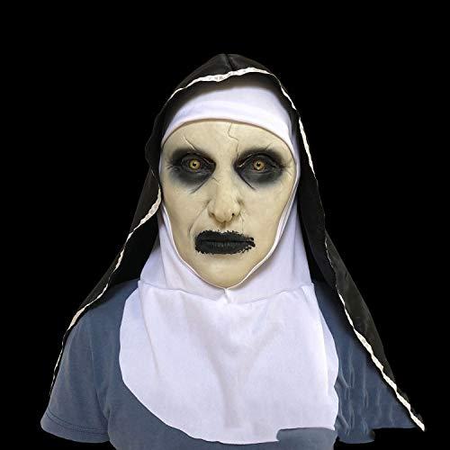 Weiblich Halloween Maske - YYF Halloween Kalligraphie 2 Nonnen Maske