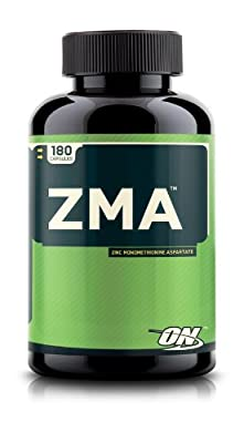 Optimum Nutrition ZMA, Nighttime Recovery Support, 180 Capsules from Optimum Nutrition