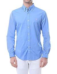 71ada487c378c Ralph Lauren-Camicia Slim Fit in Cotone 710741788