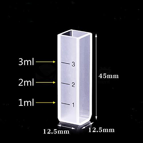 mxbaoheng Standard 10mm Fluoreszenz Quarz KÜVETTE mit PTFE Stopper