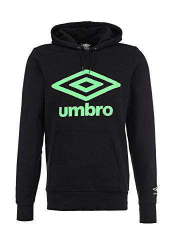 Umbro Felpa Uomo Logo Oh Hooded Top Col.Black 62583U B (m)