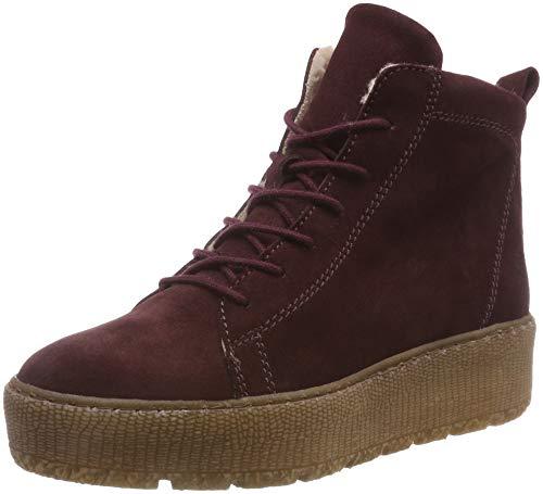 Tamaris Damen 26256-21 Combat Boots, Rot (Bordeaux 549), 38 EU