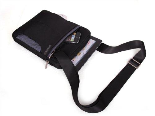 916fad3f9b Miracase NH-1299GRY – Borsa a tracolla con bordature in grigio per iPad