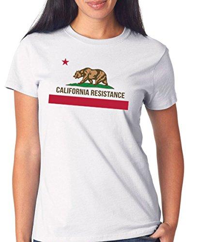 California Girls T-shirt (Certified Freak California T-Shirt Girls White L)