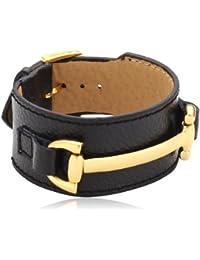 Mike Ellis New York Damen Armband Edelstahl Leder DME-03_9