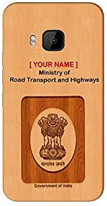 "Aakrti Mobile Back cover with your Dept: Ministry of Road Transport and Highways.Only one of it kind your ID With "" Your Name "" Printed on your Smart Phone : Micromax A350 Canvas Knight"