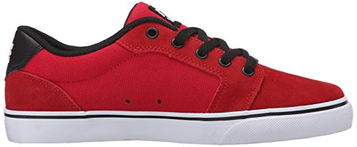 DC Shoes Anvil, Jungen Sneaker Athletic Red/Black
