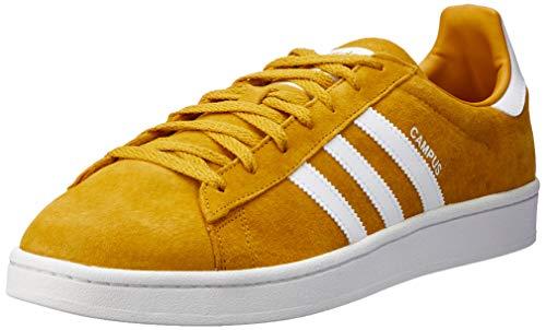 adidas Campus, Scarpe da Ginnastica Basse Uomo, Giallo (Yellow Cm8444), 42 2/3 EU