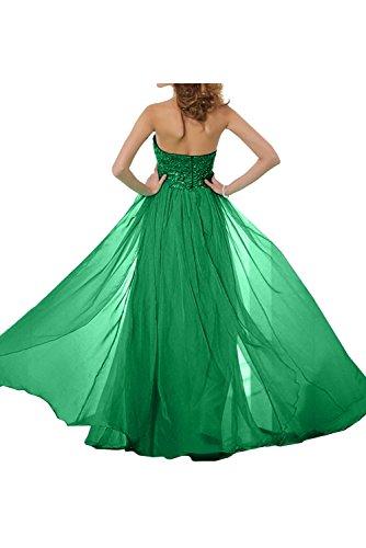 TOSKANA BRAUT Romantisch Neu Neckholder Spitze Chiffon Paillette Promkleider Partykleider Abendkleider Lang Ballkleider Wassermelone