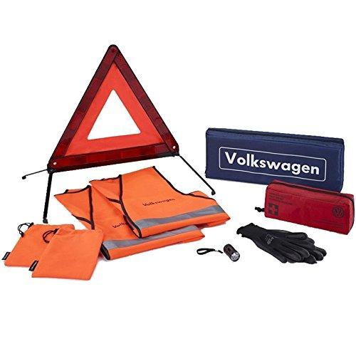 Volkswagen Original VW Sicherheitspaket Pannenhilfe Sicherheit Erste Hilfe Pannen Set 000093059M