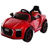 Baybee Audie Battery Operated Ride On Car for Kids with Music, Headlights with 25Kg Weight Capacity - Blue