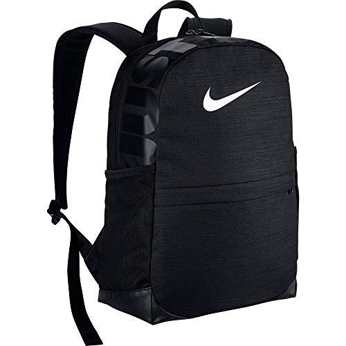 Nike Y Nk Brsla Bkpk, Zaino Unisex-Bambini, Nero Black/White, 15x24x45 Centimeters