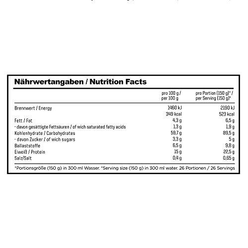 ESN Massive Weight Gainer, Chocolate Cream, 4kg - 2