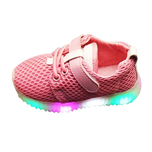 eathable LED Schuhe, Leuchtschuhe Kinderschuhe für Halloween Weihnachten Dank Giving Day ()