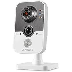 ANNKE IP Kamera drahtlose Netzwerkkamera 1080P HD mit PIR Alarm Sensor, Zweiweggespräch, Infrarot Nachtsicht, Bewegungserkennung
