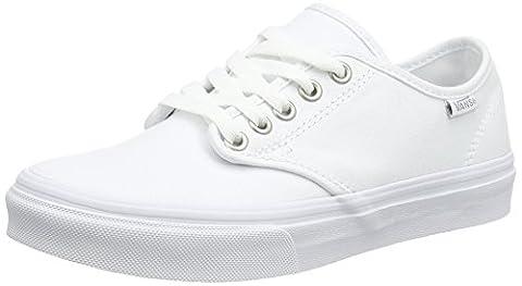 Vans Camden Stripe, Women's Low-Top Sneakers, White (canvas/white/white), 5.5 UK (38.5 EU)