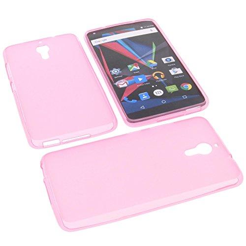 foto-kontor Tasche für Archos Diamond 2 Note Gummi TPU Schutz Handytasche pink