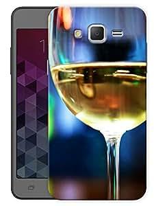 "Humor Gang Half Full Wine Glass Printed Designer Mobile Back Cover For ""Samsung Galaxy Mega 5.8"" (3D, Matte Finish, Premium Quality, Protective Snap On Slim Hard Phone Case, Multi Color)"