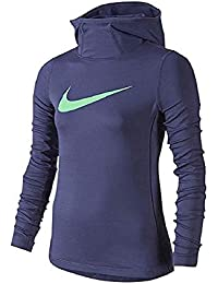 f4a0abbe59c6 Amazon.co.uk  Nike - Hoodies   Sweatshirts   Girls  Clothing