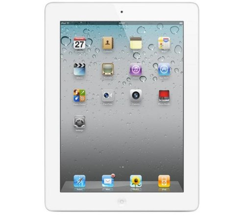 Apple 9.7 inch iPad 2 LED Multi-Touch Display 64GB Flash Drive Wi-Fi + 3G Bluetooth (White)