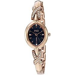 Jivago Women's 'Via' Quartz Stainless Steel Casual Watch, Color:Two Tone (Model: JV3614)