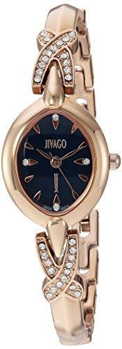 Jivago Women's 'Via' Quartz Stainless Steel Casual Watch, Color:Two Tone (Model: JV3614)