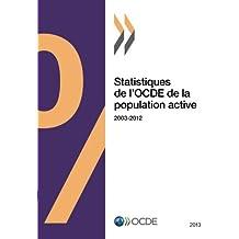 Statistiques de l'Ocde de la population active 2013: Edition 2013