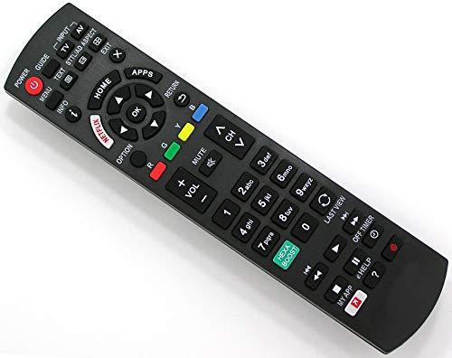 Ersatz Fernbedienung for Panasonic TV | N2QAY8000842 (Panasonic Tv Zubehör)