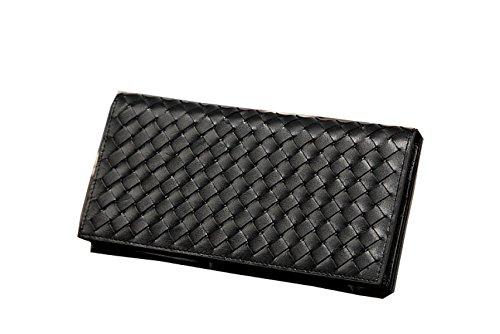 PACK Portafoglio Portafoglio Portafoglio Donna Portafoglio Carry Bag,Black Black