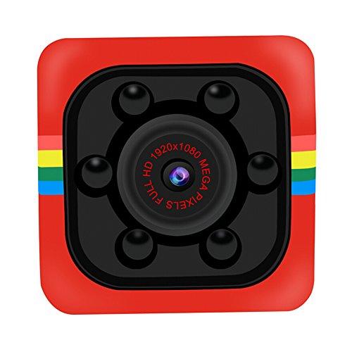 YOJINKE 1080P Mini SQ11 Car DVR DV Telecamera Spia videocamera Nascosta Sport Dash Cam Full HD 140 Gradi Visione Notturna grandangolare IR