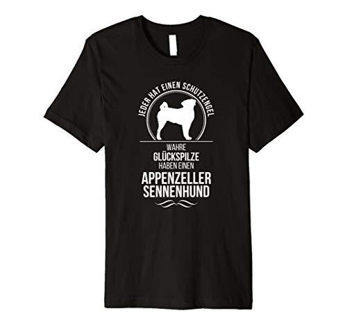 Appenzeller Sennenhund Schutzengel Hunde T-Shirt Hund Shirt