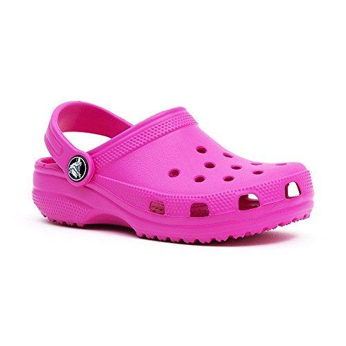 Crocs Classic Kids 1006, Sabot Unisex – Bambini Fuchsia