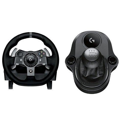 Preisvergleich Produktbild Logitech G920 Racing Lenkrad + Logitech Driving Force Shifter Schalthebel für G920 und G29