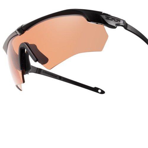 ESS Eyewear Crossbow Suppressor - Juego de 2 supresores para Gafas, Color Negro