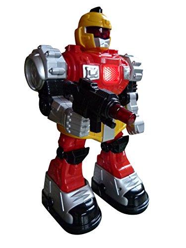 A159 , R/C Ferngesteuerter Roboter mit vielen Funktionen....kann vorwärts, rückwärts, links herum und rechts herum laufen. Mit tollen Licht und Sound-Effekten!